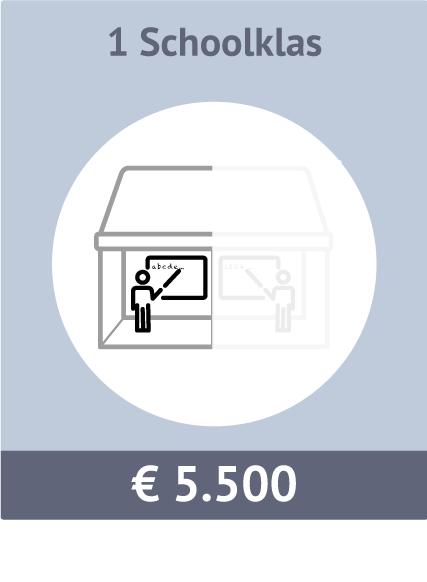 Sponsormogelijkheid voor een kantoor/bibliotheek. Kosten €5000. Kosten: €5.500